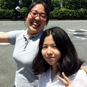 左:永田 詩房さん(卒業生)右:中村 詩絵里さん(卒業生)
