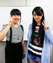 左:竹村 玲奈(たけむら れな)さん 右:松野 由慧(まつの ゆえ)さん