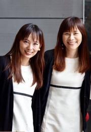 牧平 直子(右) 向原 尚美(左)