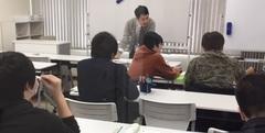 【秋葉原】今日もレポート授業★頑張っています