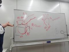 【秋葉原】手の描き方を習いました★