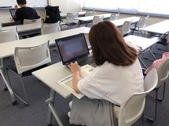 【福岡】夏休み中!!教室を覗くと・・・♪