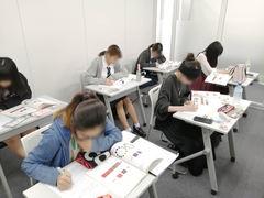 【福岡】色彩検定に向けて勉強中です♪