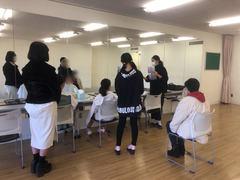 【福岡】2月24日ジョブフェスタレポート☆メイク・ネイルコース☆