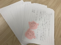 【福岡】お手紙いただきました(*'▽')