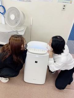 【福岡】空気清浄機がきました(^O^)/