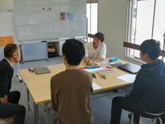【福山】授業の風景(キャリアカウンセリング)