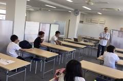 【福山】体験授業に来てくださいました!