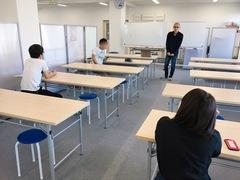 【福山】学校でのひとこま