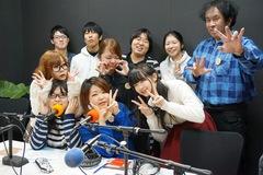 声優コースの学生たちが「FMはつかいち」の生放送にチャレンジ!!