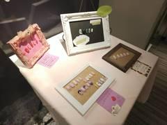【広島第二】学生作品を展示しました。