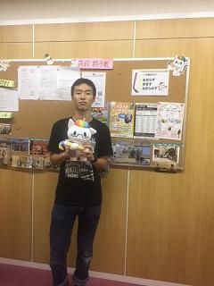 【広島】卒業生が来校しました!
