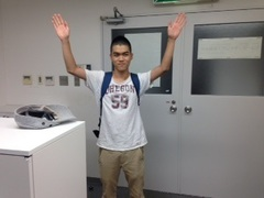 【鹿児島】本日も生徒が登校して、試験対策にがんばっています!