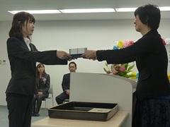 【鹿児島】秋季卒業式~手作り卒業式~