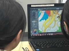 【鹿児島】金曜日午後のまんが・イラスト授業風景をのぞいてみた!
