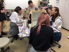 【柏】メイク★授業の応用編??