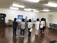 【神戸】8月の体験授業の様子ぱーと①