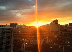【高知】夕日がきれいだったので