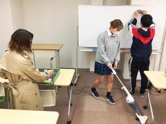 【高知】生徒たちによる大掃除