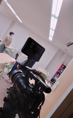 【高知】テレビクルーが撮影にきました!