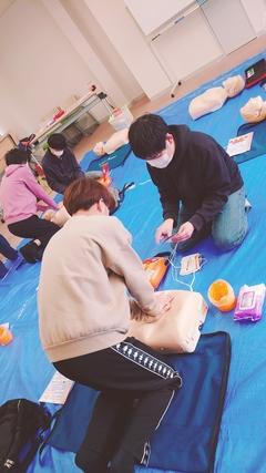 【高知】AEDの使い方を習得!