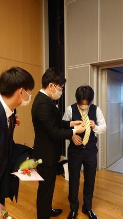 【高知】先生と一緒に、卒業式前。