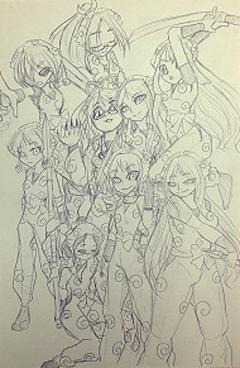 ☆マンガ・イラストコース生徒作品紹介①☆