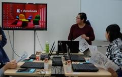 【熊本】ネイル・イラストのオープンスクールを行いました。