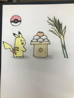 【熊本】イラスト・柿を描く