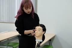 【熊本】ヘアメイク実践!