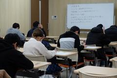 【熊本】後期試験が始まりました。