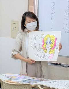 【熊本】アナログイラスト授業開始