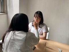 【熊本】メイク専攻の授業と撮影