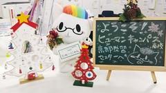 【京都】街も校舎もクリスマス一色*