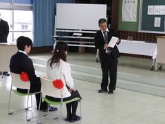 【名護本校】名護本校生卒業式②