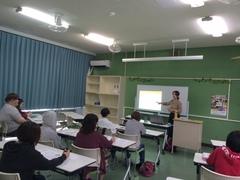 【名護本校】ユミ先生の韓国語講座♪