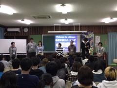 【名護本校】笑顔いっぱいの開講式