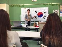 【名護本校】ユミ先生の韓国語講座