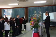 【名護本校】平成30年度卒業式
