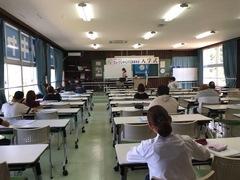 【名護本校】前期試験1日目!