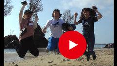 【室蘭】沖縄の砂浜でTAKE5のジャンプ!