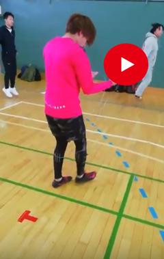 【室蘭】体育スクーリング30秒で何回飛べるかなぁ~