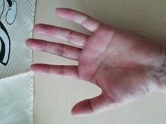 【室蘭】生徒の手