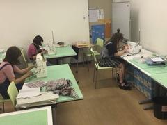 ✿ファッションコース授業風景✿
