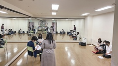 【名古屋第二】声優・タレント専攻の表現の授業へLet's GO(○,,・з・)ノ G□♪♪