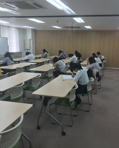【名古屋】今日から前期試験 第二弾♬