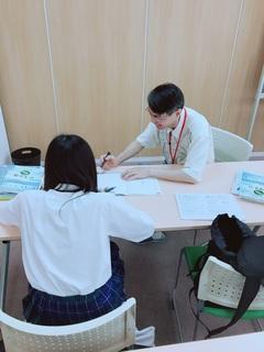 【名古屋】一足先に進学コースの授業がスタート