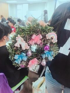 【名古屋】生徒たちが作ったリースをご紹介