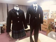 【名古屋】制服のマネキンがやってきた