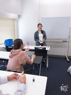 【那覇】在校生向けネイル体験授業★